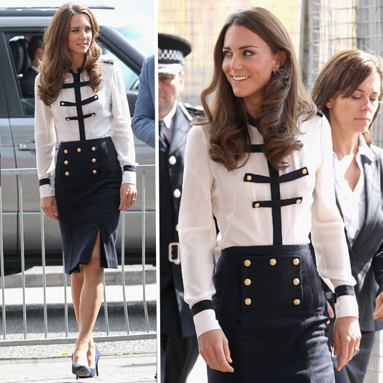 Kate Middleton's Military Look