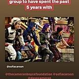 Descendants 3 Cast Instagram Tributes For Final Movie 2019