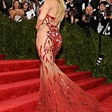 Jennifer Lopez's sparkly Versace covered (just barely) what it needed to.