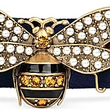 Gucci Web Belt With Bee