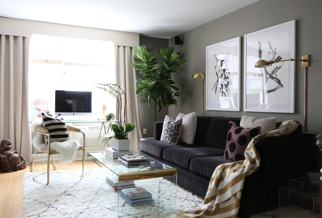 Nyc Apartment Interior Design nyc apartment interior design chelsea new york city Interior Designers Nyc Apartment Is Full Of Diy Inspiration Popsugar Home