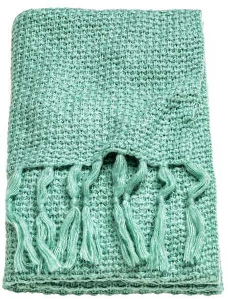 H&M Moss-Knit Throw