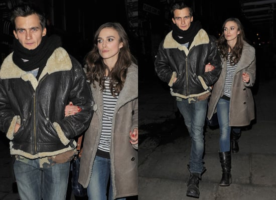 Keira Knightley and Rupert Friend in Co-Ordinating Outfits