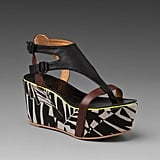 Amp up your statement power with this chic take on the tribal trend.  Matiko Bali Platform Sandal ($182)