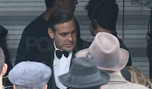 Clooney Gets All Gussied Up Just for You