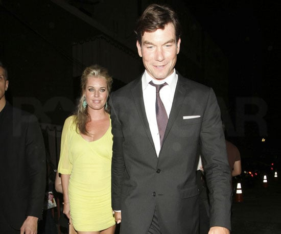 Slide Picture of Rebecca Romijn and Jerry O'Connell Out in LA