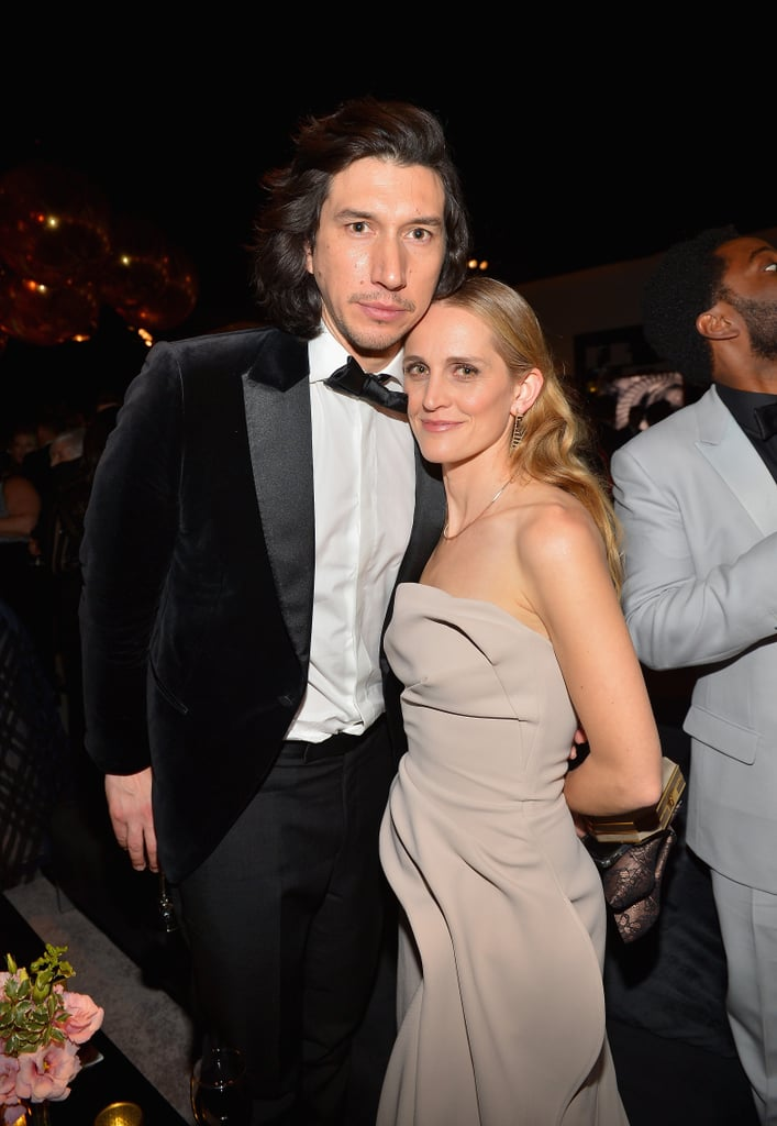 Pictured: Adam Driver and Joanne Tucker