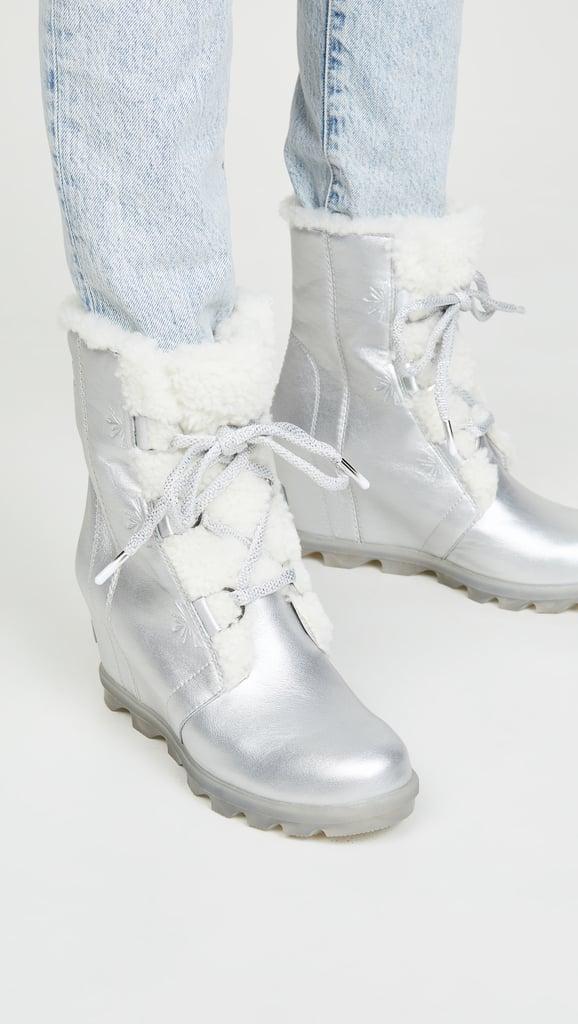 Sorel x Disney Joan of Arctic Wedge II Shearling Boots