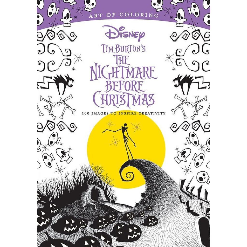 Tim Burton's The Nightmare Before Christmas Art of Coloring Book ($16)