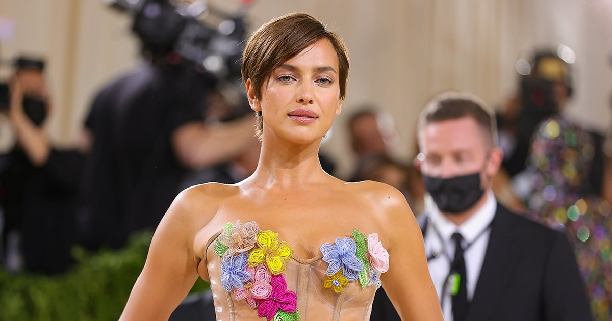 Irina Shayk Looks Like She Stepped Straight Out of the '90s With Her New Pixie Haircut - POPSUGAR