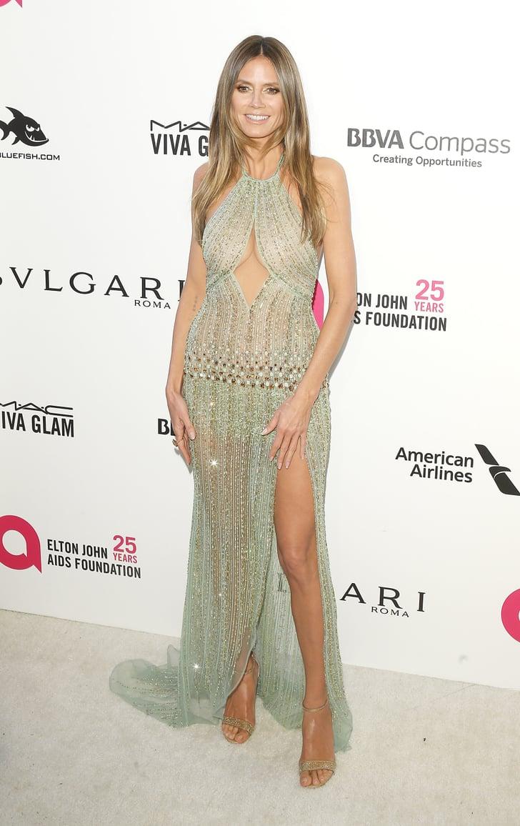 Heidi Klum | Oscars Afterparty Dresses 2018