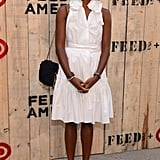 Shala Monroque at the FEED USA and Target launch event in Brooklyn.