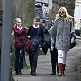 Gwyneth Paltrow and Chris Martin Pick Separate Plans For Their Day Out