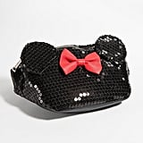 Loungefly Minnie Mouse Black Sequin Fanny Pack