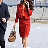 Amal Clooney's Dress Suit