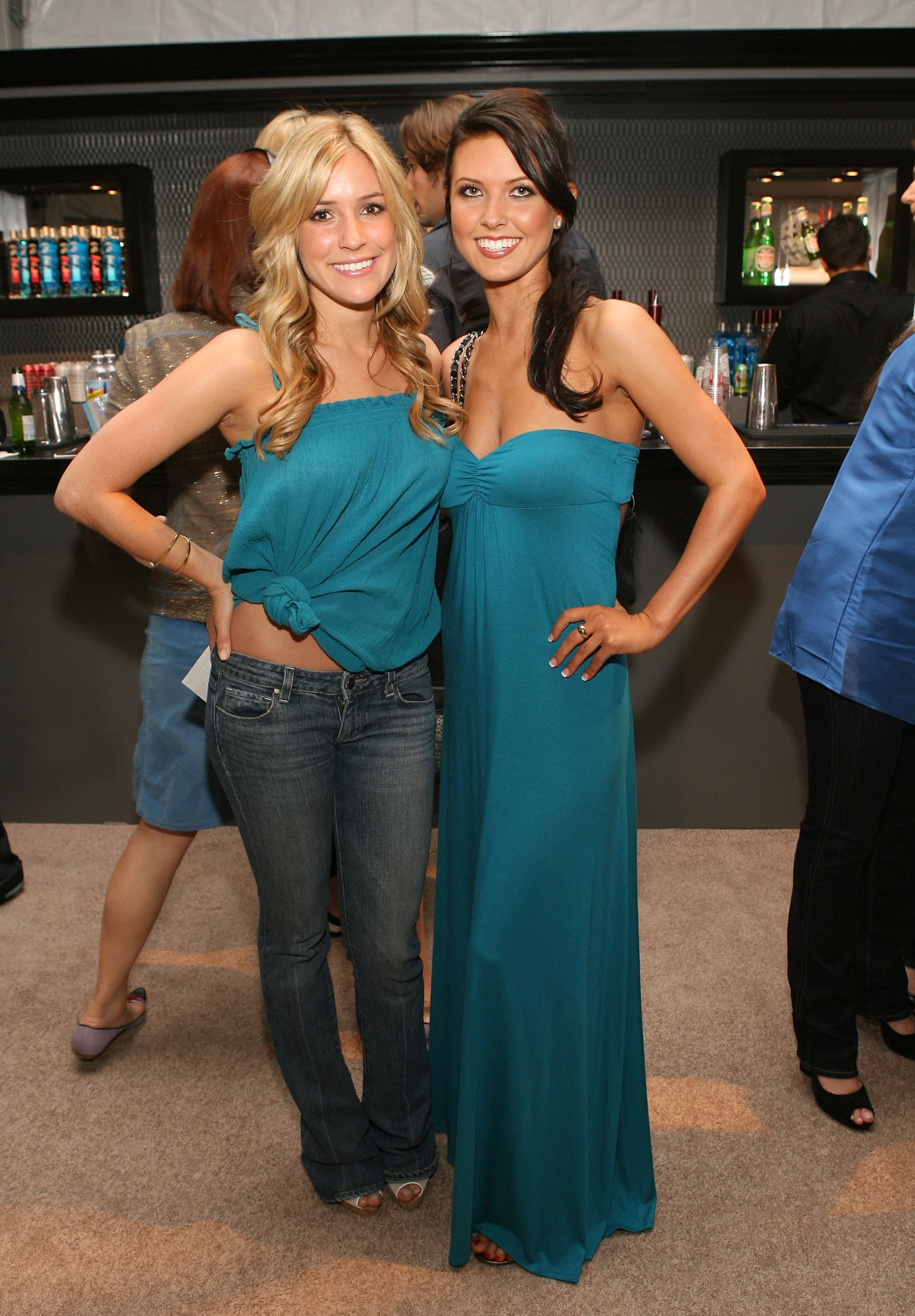 Kristin Cavallari and Audrina Patridge matched at NY Fashion Week in March 2008.