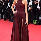 Blake Wearing a Gucci Première Gown at Cannes in 2014