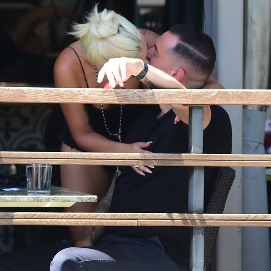 Lady Gaga Kissing Audio Engineer Dan Horton in LA July 2019