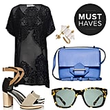 POPSUGAR Fashion is transitioning into the new season with an array of colorful bags, dresses, and, of course, gorgeous sandals and jewels to polish it all off.