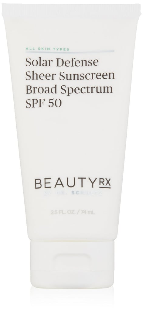 BeautyRX Solar Defense Sheer Sunscreen Broad Spectrum SPF 50 ($42)
