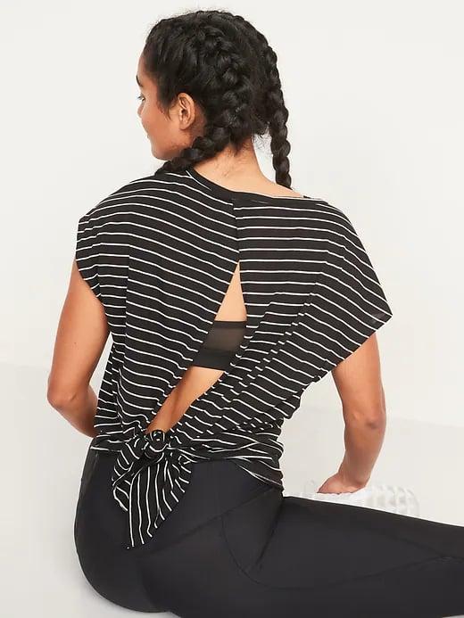 Old Navy UltraLite Tie-Back Cocoon Top