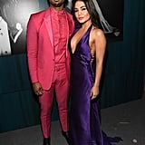 Michael B. Jordan and Vanessa Hudgens at the Vanity Fair Oscars Party