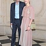Antoine Arnault and Natalia Vodianova at Dior Fall 2019