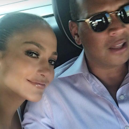 Jennifer Lopez and Alex Rodriguez Instagram August 2017