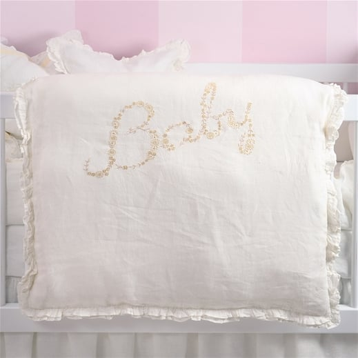 Pom Pom at Home Baby Linen Crib Duvet