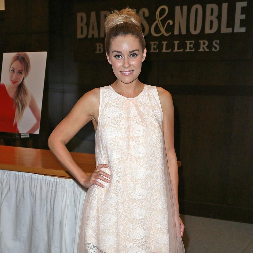 Is Lauren Conrad Hinting at Her Wedding Dress?