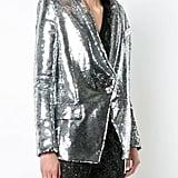 Balmain Sequin-Embellished Blazer