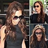 Who: Victoria Beckham The look: Long, glossy waves . . . and oversize sunglasses Ever since growing out her iconic, asymmetrical bob, Victoria has taken a shine to long, flowing waves. And paired with her oversize sunglasses, Victoria's aesthetic is the ultimate cool-girl look.