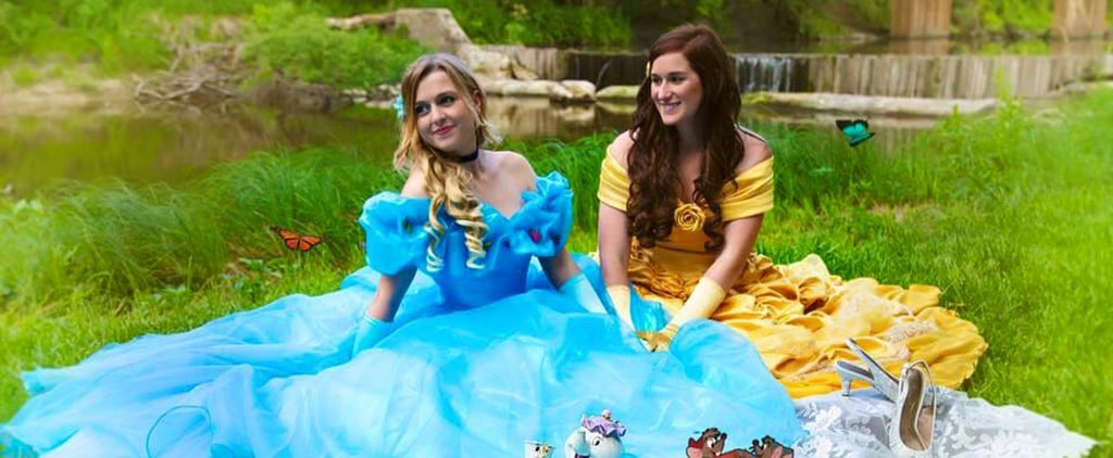 This Adorable Couple Proves Disney Princesses Don't Need a Prince For Their Happily Ever After