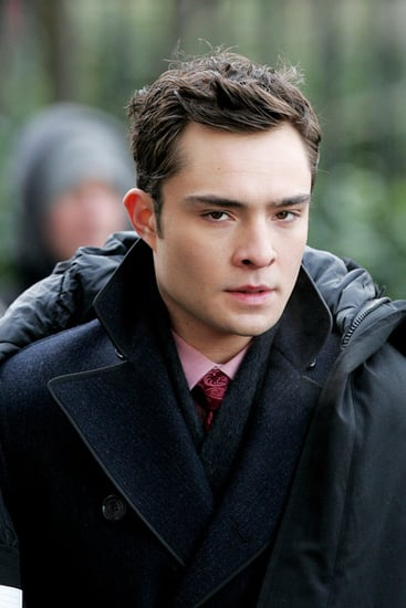 Ed Westwick films some scenes for GG