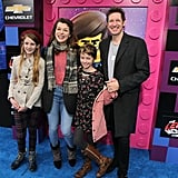 Pictured: Milla Jovovich, Paul W. S. Anderson, and daughters, Ever and Dashiel