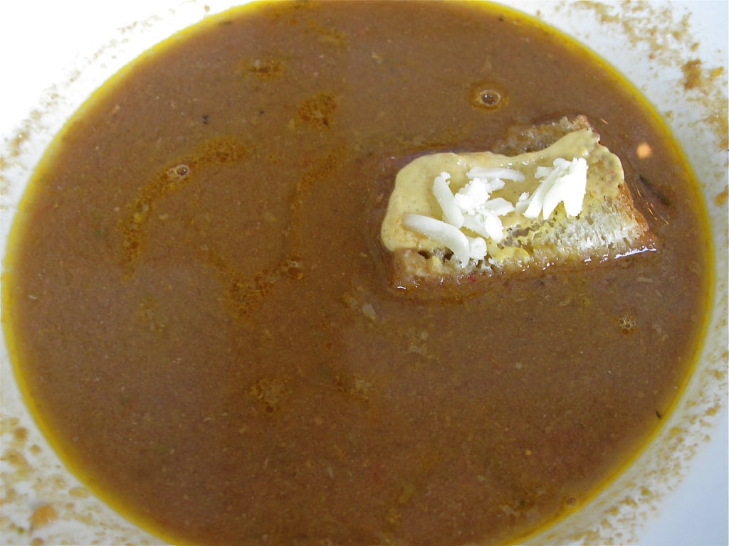 French Fish Soup With Croutons and Rouille