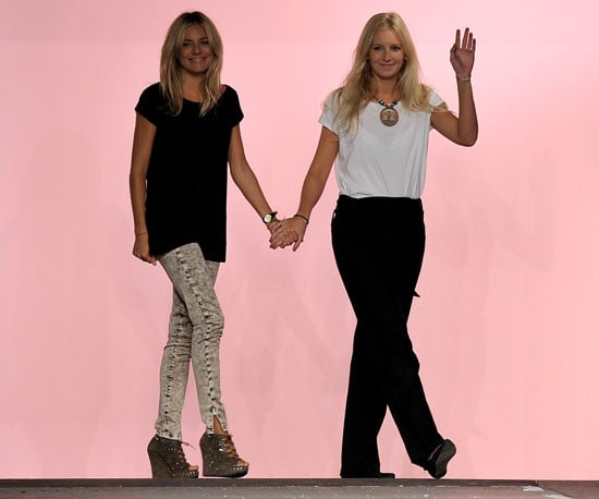Slide Picture of Sienna Miller Presenting Twenty8Twelve at London Fashion Week