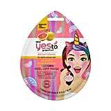 Yes to Vitamin C Glow Boosting Unicorn Peel-Off Mask Single Use Facial Treatment