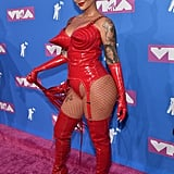 Amber Rose at the 2018 MTV VMAs