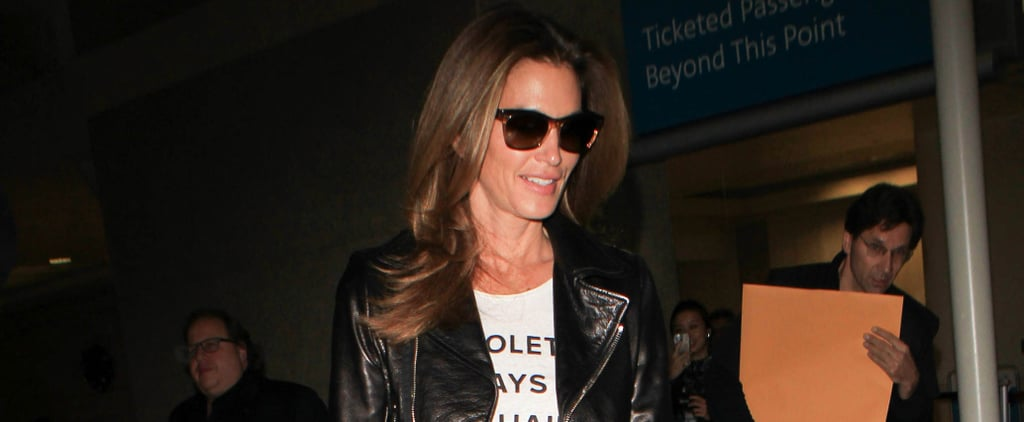 This Is Cindy Crawford's Go-To Weekend Outfit, and It's One We've Been Wearing For Years