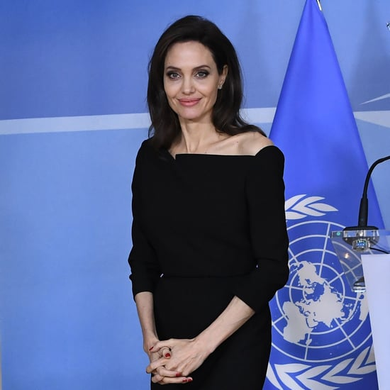 Angelina Jolie at NATO Headquarters in Belgium January 2018
