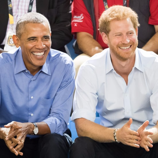 Prince Harry and Barack Obama at Invictus Games 2017