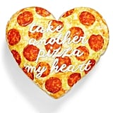 Pizza Heart Pillow