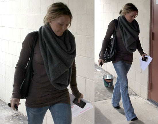 Hilary Out in LA
