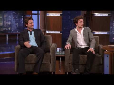 Video Clip of Aaron Johnson on Jimmy Kimmel Show Promoting Kick-Ass Talking About Accents and Swearing By Mistake