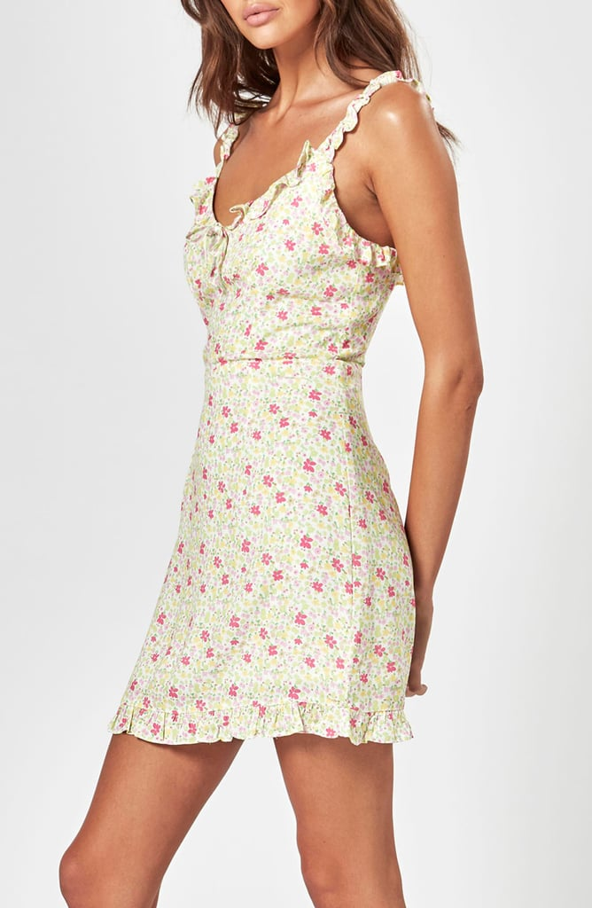 Charlie Holiday Fable Floral Minidress