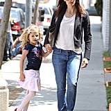 Jennifer and Violet Get in Some Girl Time Ahead of Mother's Day
