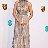 Laura Whitmore at the 2019 BAFTA Awards