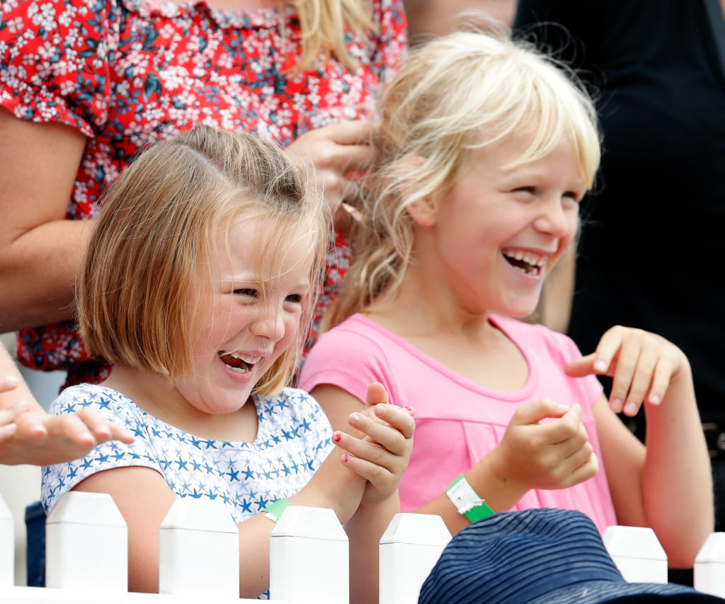 Mia Tindall and Isla Phillips