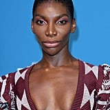 Michaela Coel With a Shaved Head